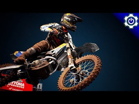 Supercross the Game - Online Multiplayer - Collision Chaos!