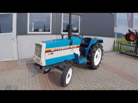Mitsubishi MT2201 2WD Compact Tractor 22HP