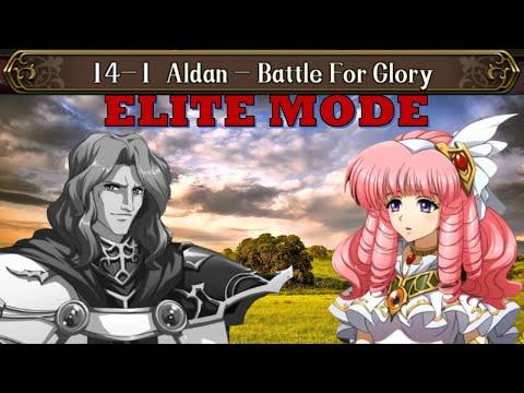 Langrisser M - Time Rift 14-1 Elite, Perfect Clear - Aldan, Battle For Glory |