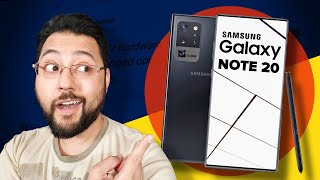 Galaxy Note 20: Everything there is to know