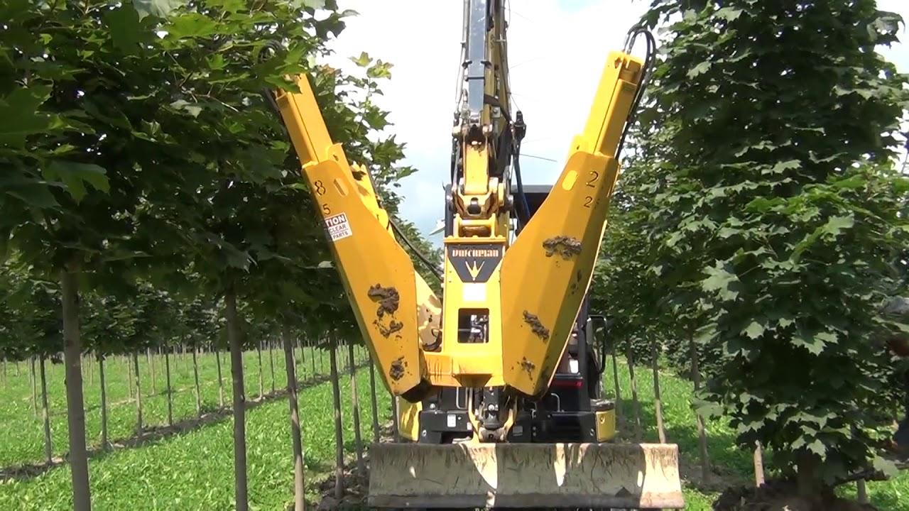 280i 4 Blade Excavator-mounted Tree Spade