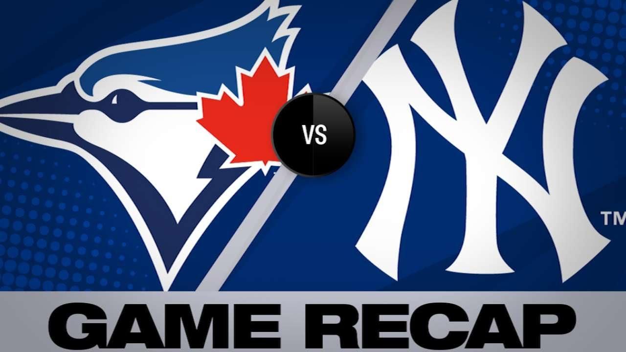Hicks, Stanton homer in Yanks' 10-8 win | Blue Jays-Yankees Game Highlights 6/24/19