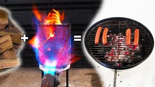 Cooking With Wood Gas Charcoal