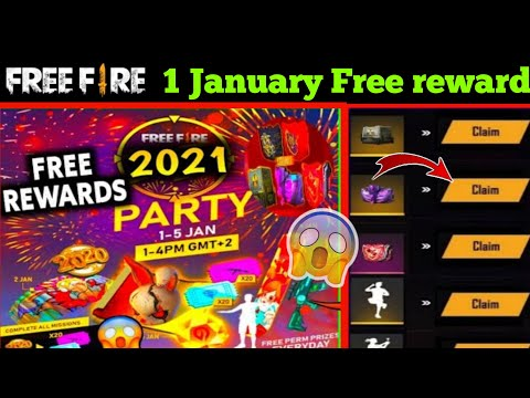 1 January Events Free Fire Free Reward 1 January Free Fir