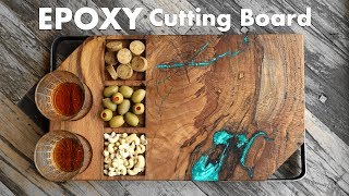 Trash Wood To Treasure - DIY Epoxy Cutting Board / Serving Board