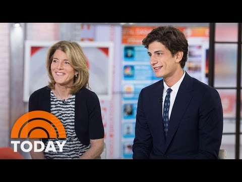 Make Caroline Kennedy And Son Jack Schlossberg On JFK, Obama And Her Met Gala Dress | TODAY Pictures