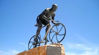 Marco Pantani Monument, Cesenatico, Forlì-Cesena, Emilia-Romagna, Italy, Europe
