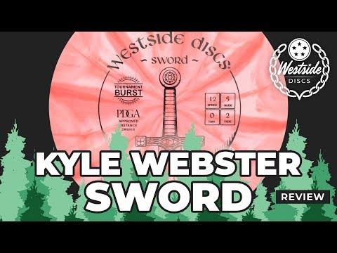 Kyle Webster Westside Discs Sword Review