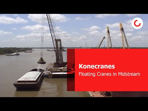 Floating Cranes in Midstream Operation