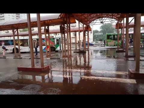 Вокзал в Серпухове, утро 07:45, 28.07.2017