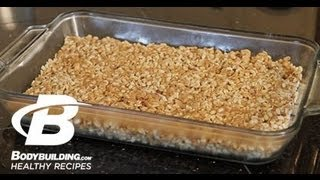 Healthy Recipes: Honey Almond Protein Crisps / Bars