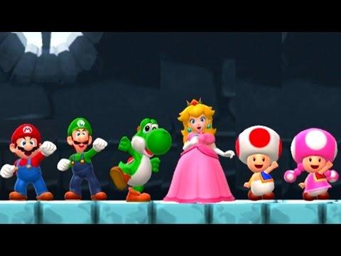 Super Mario Run - All Characters vs Bowser