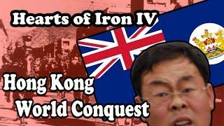 Hearts Of Iron 4 HONG KONG WORLD CONQUEST