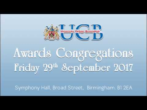 Awards Congregations 2017 - 11.30am
