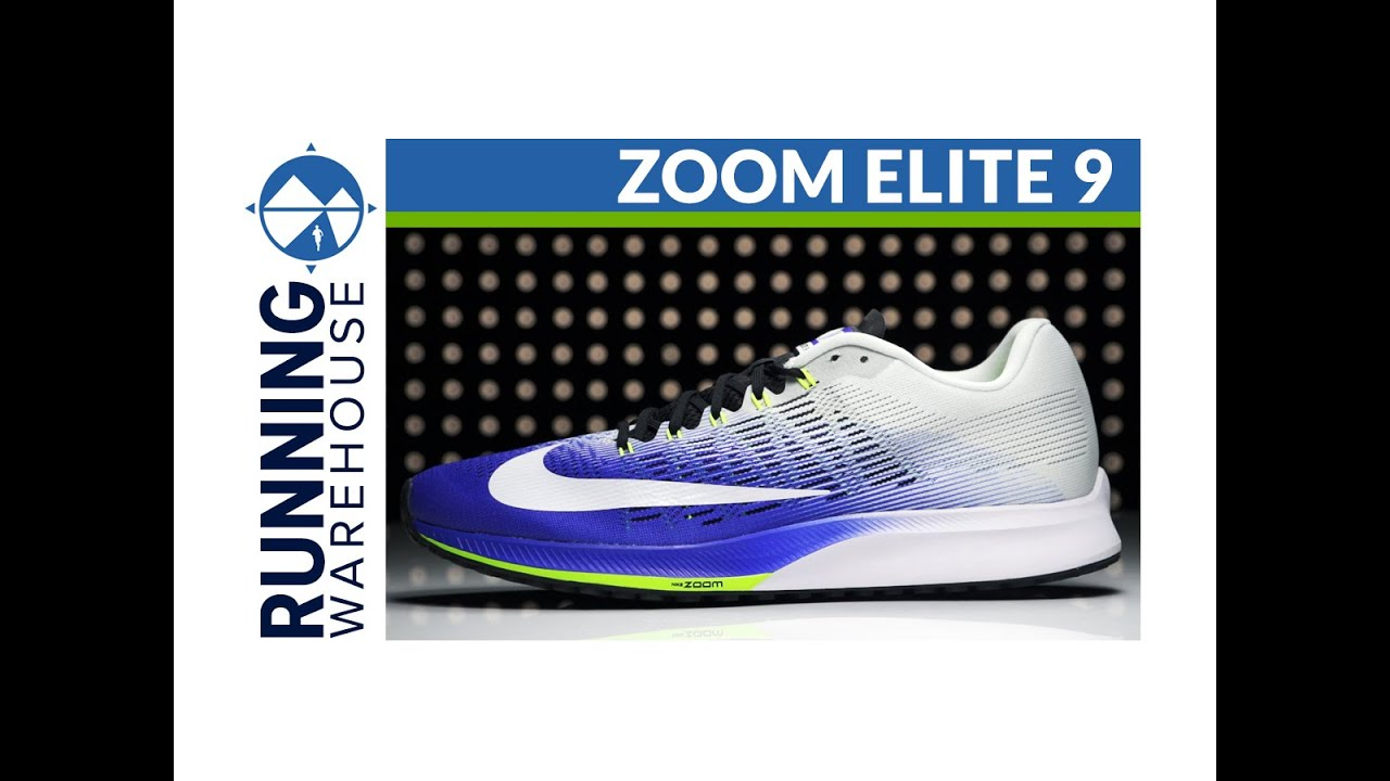 Nike Zoom Elite 9 for Men. Running Warehouse