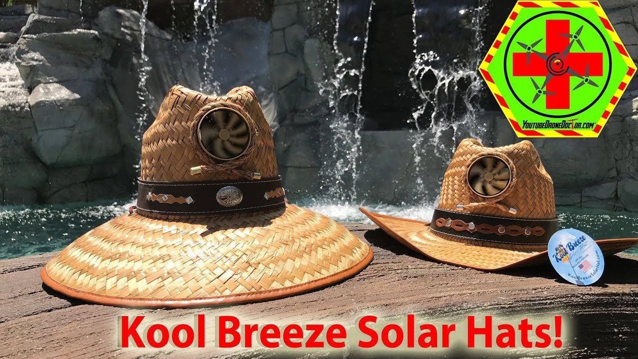 58b3f43584e Kool Breeze Solar Hat Quick Review! - YouTube