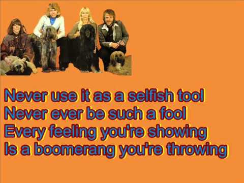 ABBA-Bang-A-Boomerang mit Lyrics