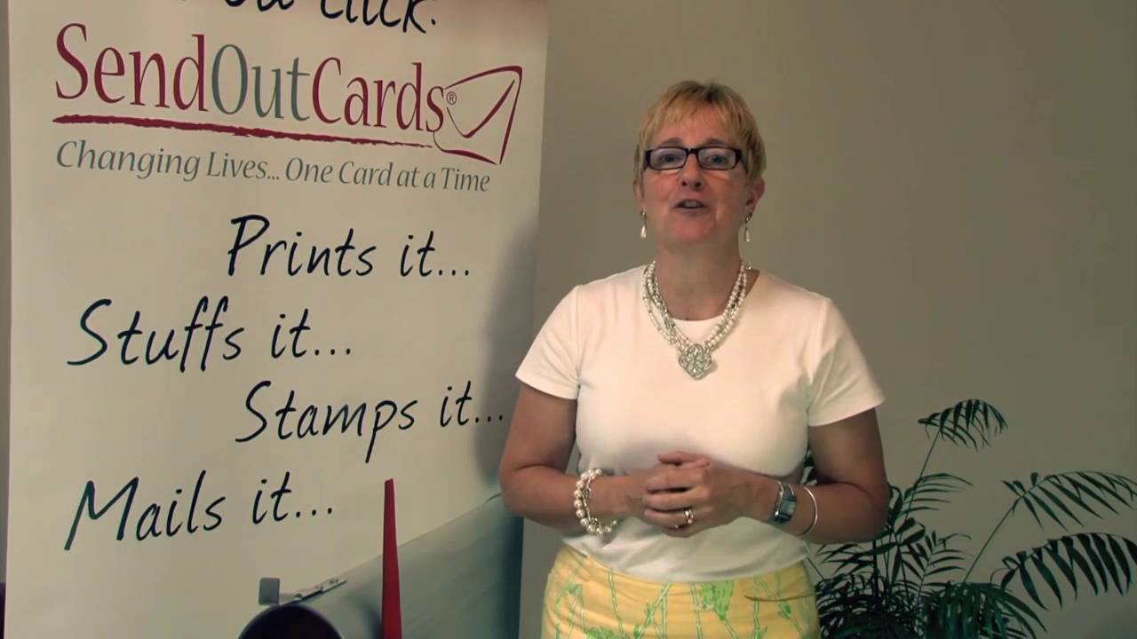 Send Out Cards Verbal Business Card - YouTube