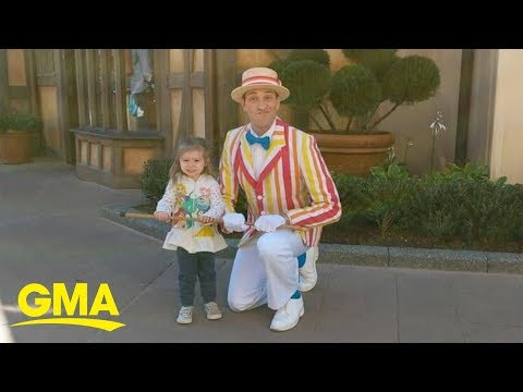 Two-Year-Old Disney World Visitor Wows Crowds with Mary Poppins Dance