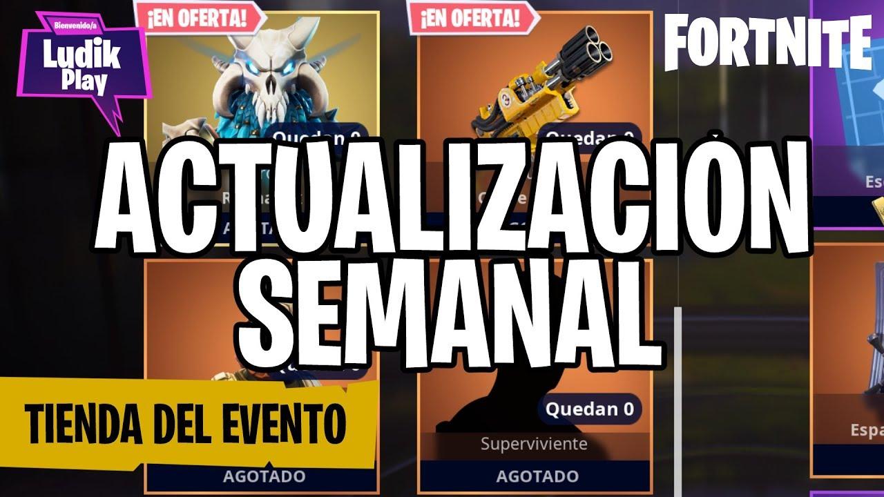 RAGNAROK EN TIENDA DEL EVENTO | FORTNITE SALVAR EL MUNDO | GUÍA ESPAÑOL