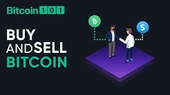 How to buy and sell Bitcoin - Bitcoin 101