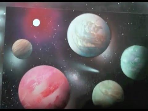 Spray paint art secrets youtube