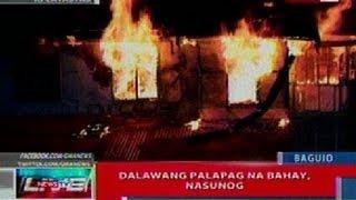 NTL: 2 palapag na bahay sa Baguio, nasunog