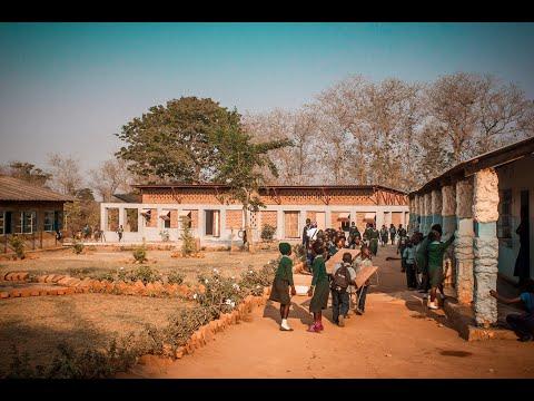 On Site at the Evergreen School Zambia   CAUKIN Studio