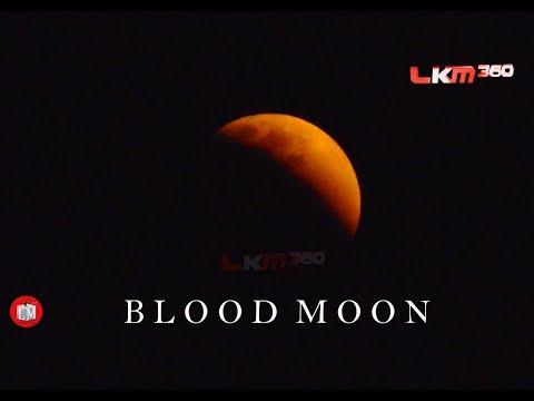 LUNAR ECLIPSE 2018 | Blood Moon | LKM 360