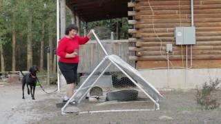 Building A Light Weight Chicken Coop