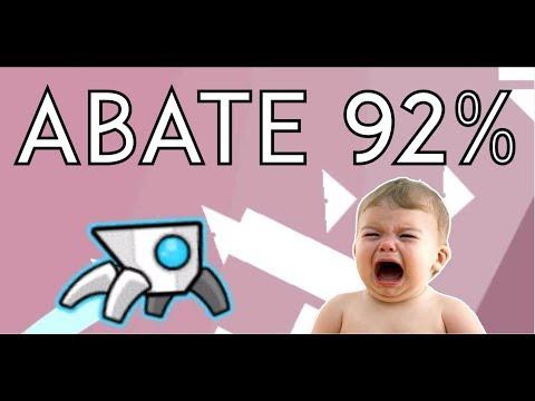 Geometry Dash - ABATE 92% (Easy Demon)