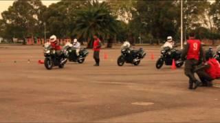 Yamaha Argentina capacitó en conducción a Gendarmería - Parte 1