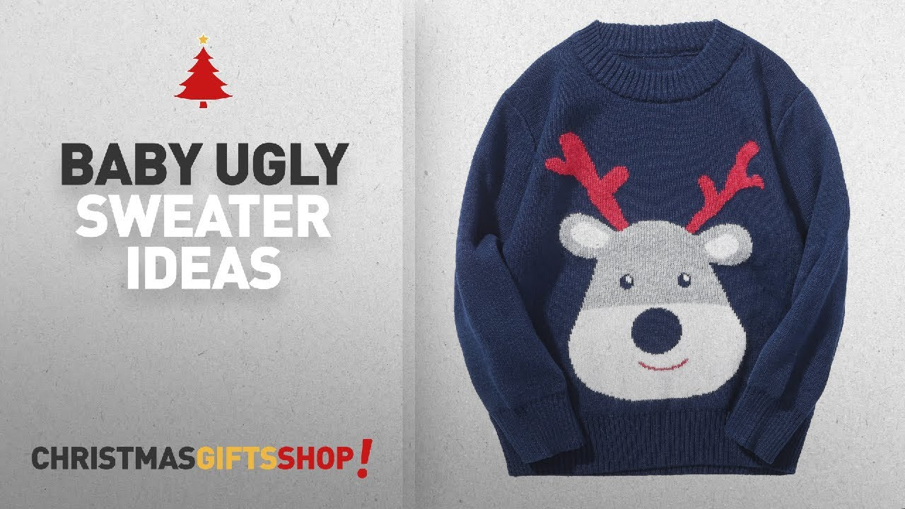 af7e58d79 Top 10 Christmas Baby Ugly Sweater Ideas: Encontrar Baby Boys Girls Ugly  Christmas Sweater 1Deer. The Christmas Shop