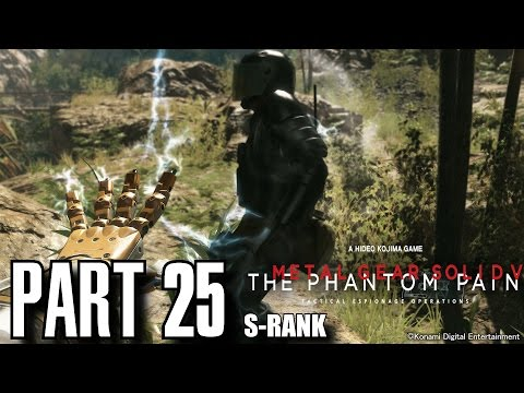 Metal Gear Solid 5 The Phantom Pain Walkthrough Part 25 - Close Contact S-Rank, All Objectives