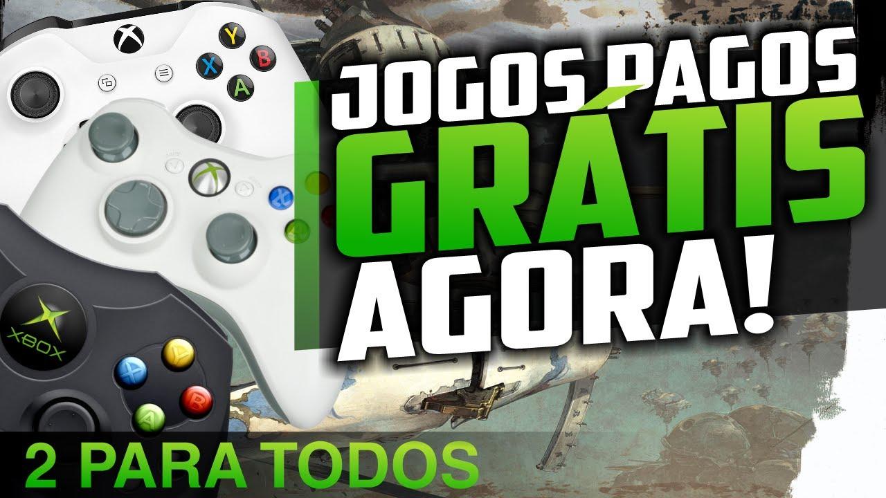 CORRE! 3 JOGOS PAGOS LIBERADOS de GRAÇA no XBOX ONE! Tem pra GOLD e pra TODOS!