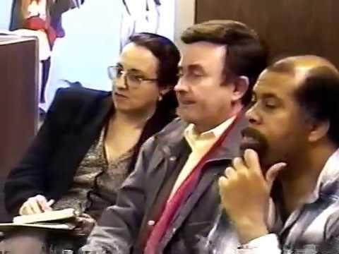 Crack the CIA Coalition LA - Meeting and LA Times Demo (1997)