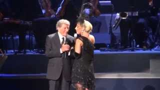 Lady Gaga & Tony Bennett - I Won't Dance - Radio City NYC 6/20/15