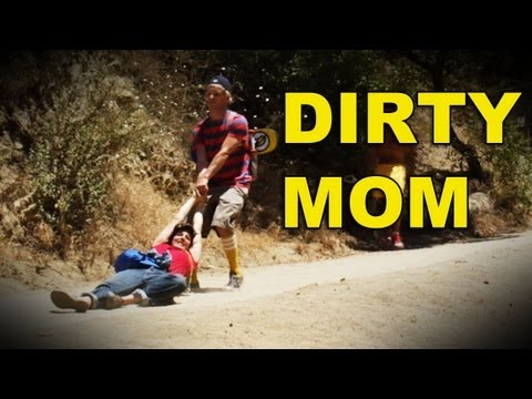 Mom dragged through dirt