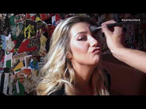 Bastidores: Luiza Possi e seu estilo urbano para QUEM Acontece