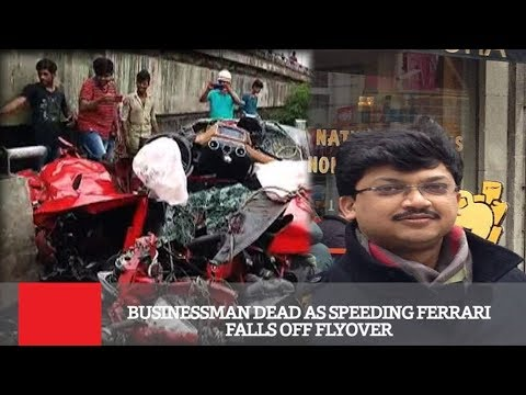 Businessman Dead As Speeding Ferrari Falls...