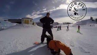 Snowpark Steinplatte Snowboard and Freeski Fun 10.02.2016