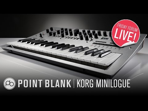 Korg Minilogue: First Look (FFL!)