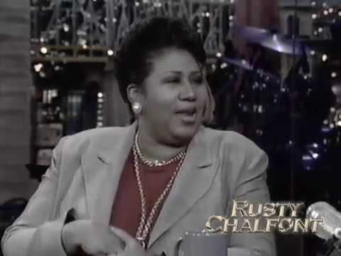 Aretha Franklin - A Rose is Still a Rose (Live on Letterman)