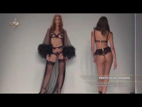 PRETTY WILD -  LINGERIE  Fashion Week Amsterdam  2015