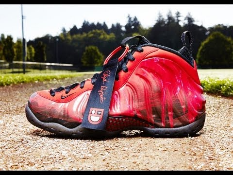 timeless design 77f95 47c7c Doernbecher x Nike Air Foamposite One by Elijah Diggins FIRST ON YOUTUBE