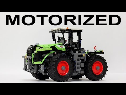 Lego Technic 42054 Motorized - Claas Xerion 5000 Trac VC