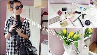 GRWM Hello Spring!