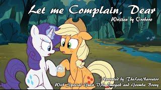 Let Me Complain, Dear [MLP Fanfic Reading] (Romance/Comedy - Rarity/Applejack)