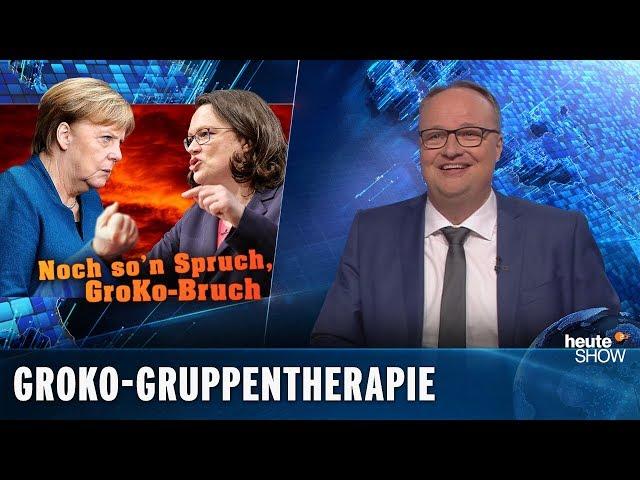 Die Groko ist tot, sie weiß es nur noch nicht | heute-show vom 15.02.2019