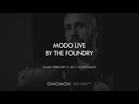Modo 3D Modeling Demo with Foundry